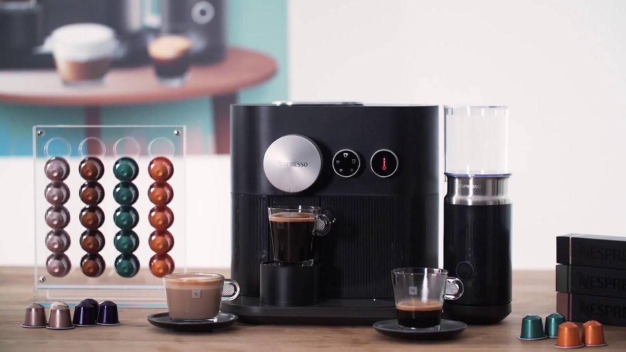 Nespresso C85 Eu Bk Ne Kapselmaskin Youtube
