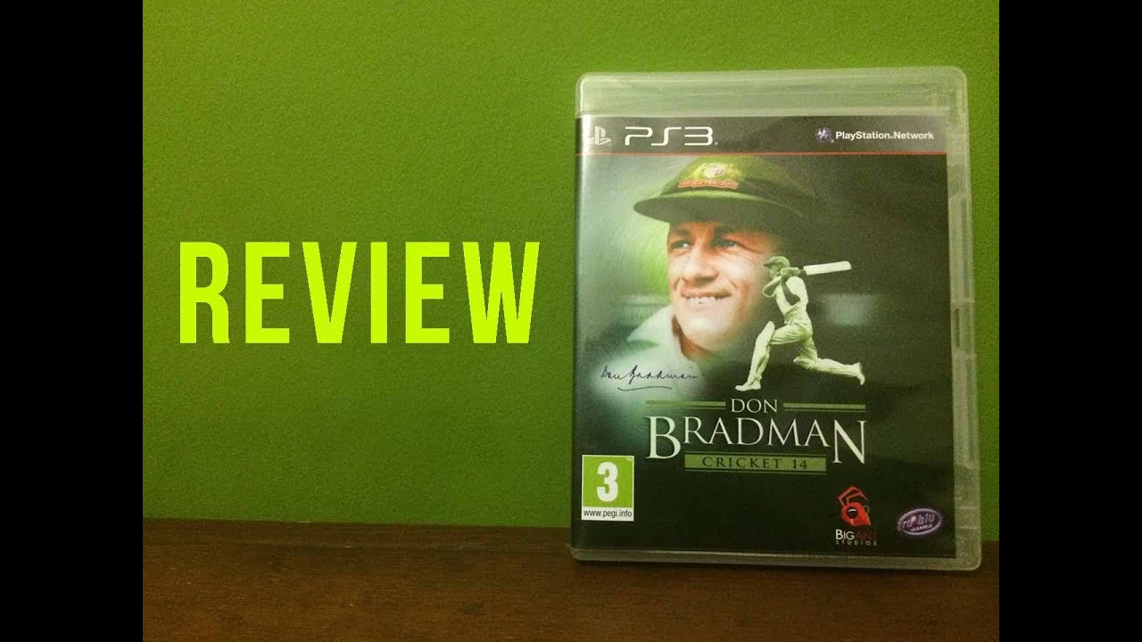 Don Bradman Cricket 14 Full Review