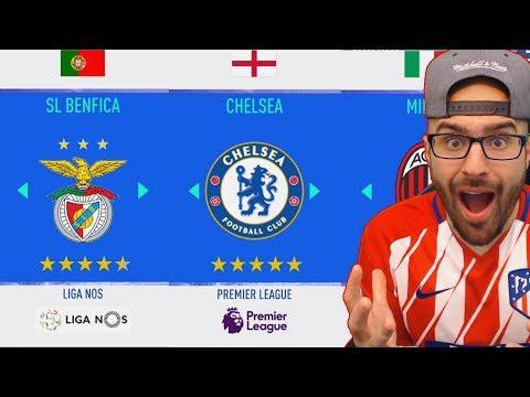 MY NEW CAREER MODE TEAM!?!? FIFA 19 Career Mode thumbnail