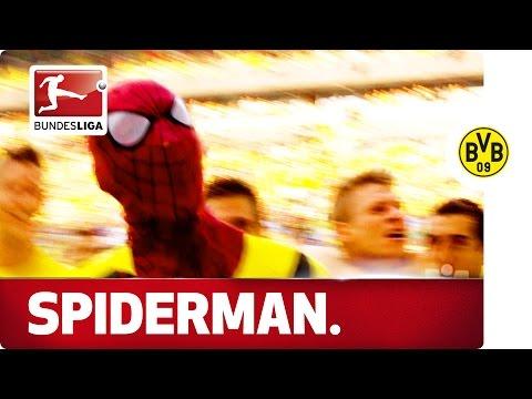 Aubameyang's Spiderman Mask Celebration