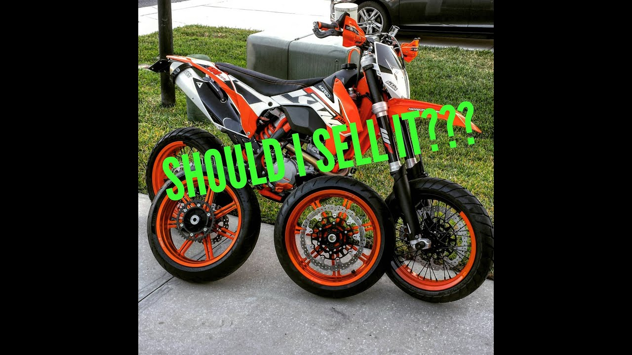 ktm 500 exc xcw should i sell it and just keep the fz-09? - youtube
