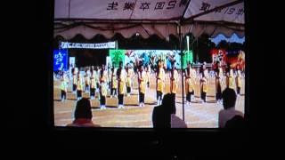 2010愛媛県立松山西運動会銀嶺