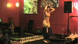 Belinda At Bellydance Uncorked Jan 2011, 2nd Set