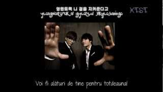 Cover images Mikey with Kim Jong Kook - All for you [ Romanian subs. ]