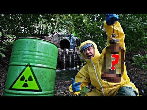 Эту жуткую находку мы нашли на радиоактивном болоте, как в Чернобыле с поисковым магнитом