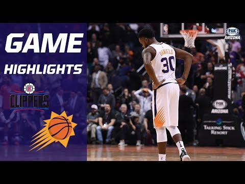 HIGHLIGHTS: Clippers 123, Suns 119 (OT)