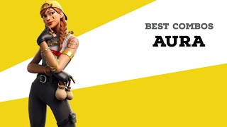 Best Combos | Aura | Fortnite Skin Review