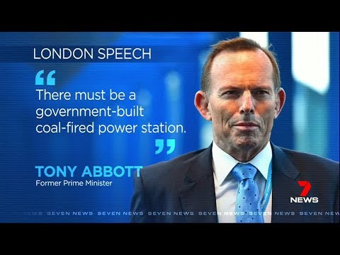 Seven News. Unproven Global Warming, Abbott Confirms.(Fake Science)(Global Tax)