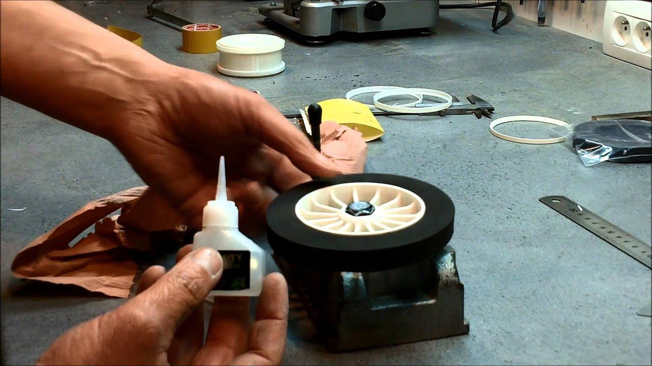 Fabrication Des Roues De Chars A Voile Rc Youtube