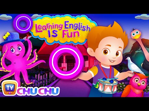 ChuChu TV Learning English Is Fun™ | Alphabet O Song | Phonics & Words For Preschool Children