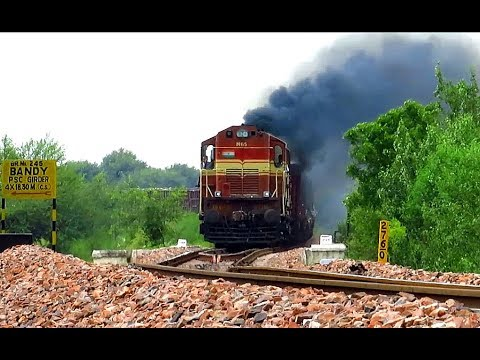Heavy Diesel Rail Traffic in Resurgent Rajasthan : Jaipur Phulera Ep 1