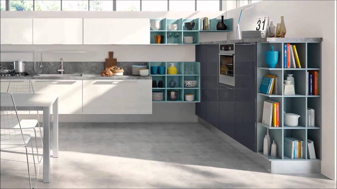 Cucina moderna mod swing cucine lube torino youtube - Lube cucine torino ...