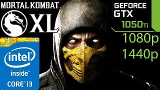 Mortal Kombat XL: GTX 1050 ti - i3 6100 - 1080p - 1440p