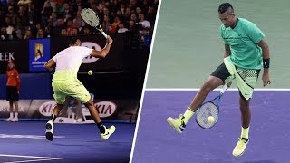 Nick Kyrgios - 10 Minutes Of Pure Madness  Hd