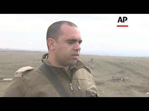 Israeli Army Demonstrates Latest Battle Tank