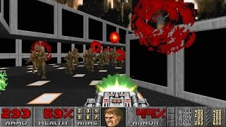 Doom II: Hell on Earth on NIGHTMARE! difficulty in 22:35 - World Record Speedrun 30nm2235