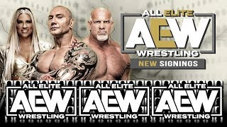 AEW All Elite Wrestling 20 Free Agents That Could be Joining Soon