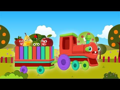 Meyveler Şarkısı   Arkada Yüküm Ne Var mı Bilen? Türkçe Bebek Şarkısı - Kırmızı Tren