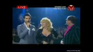 Григорий Лепс/Ирина Аллегрова премия муз тв 2008