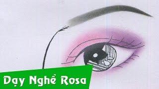 Trang điểm cô dâu - Tông hồng tím - kiểu nhấn hóc