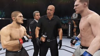 Khabib Nurmagomedov vs. Alexander Volkov (EA Sports UFC 3) - CPU vs. CPU