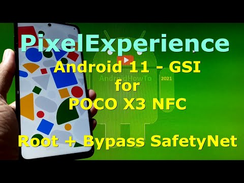 PixelExperience Android 11 for POCO X3 NFC - Surya