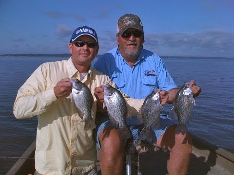 Catching Hungry Post Spawn Crappie on Sam Rayburn