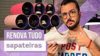 Guarde seus sapatos sem gastar muito - Dicas com Paulo Biacchi - CASA DE VERDADE
