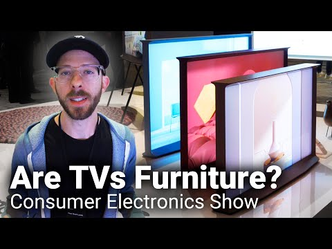 A Furniture Designer goes to CES 2020 and Makes Cardboard Furniture!!!