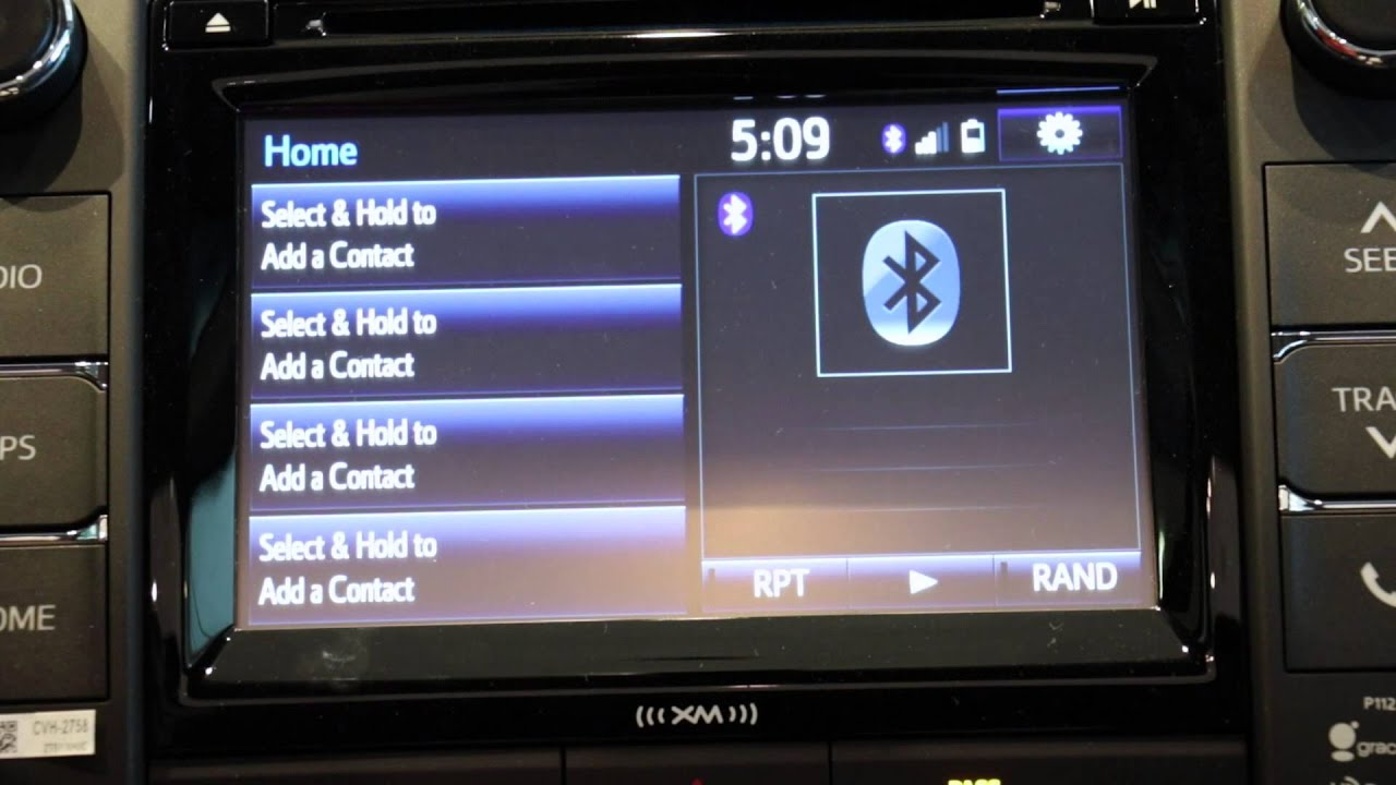Toyota Camry: iPod problems
