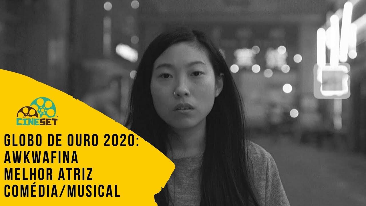 Globo de Ouro 2020: Awkwafina vence em Melhor Atriz Comédia/Musical - YouTube