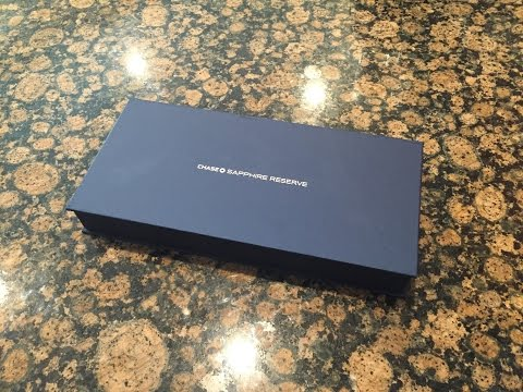 Chase Sapphire Reserve Unboxing - First Look at the 100,000 Point Card!