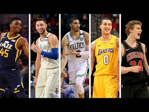 NBA 1st Team All Rookie | Best Plays From Donovan Mitchell, Jayson Tatum, Ben Simmons + More