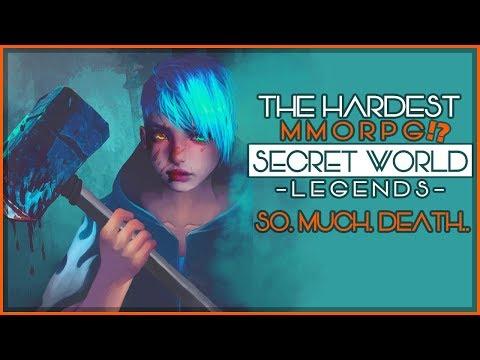 I CANT STOP DYING!! The Hardest MMORPG Ever - Secret World Legends