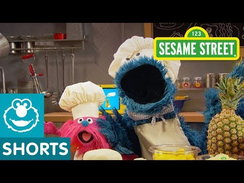 Sesame Street: Pineapple Pizza | Cookie Monster's Foodie Truck