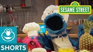 Sesame Street: Mushroom and Pineapple Pizza | Cookie Monster's Foodie Truck