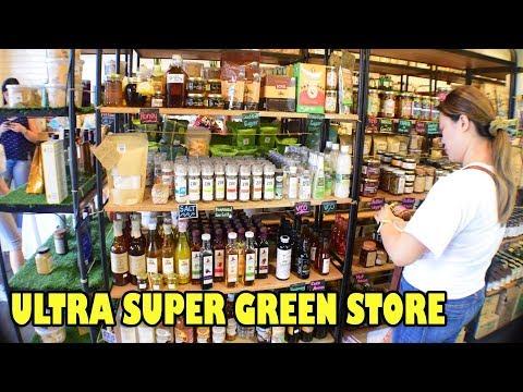 INSIDE: ULTRA SUPER GREEN STORE IN KATIPUNAN QC