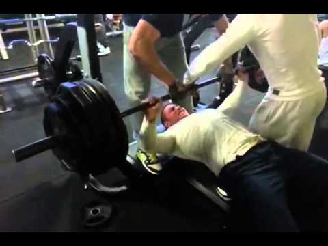 D velopper coucher 190kg 2 reprise a 20 ans youtube - Developper coucher guider ...