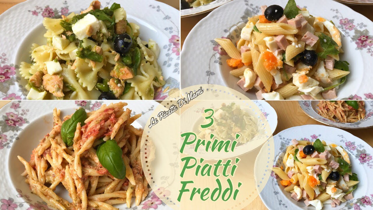 3 primi piatti freddi facili e veloci tre idee di pasta for Piatti freddi veloci
