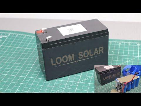 Unboxing Loom Solar ATOM 12Ah/ 150W Lithium Battery