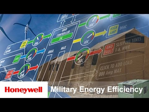 Energy Efficiency for the Military | Energy Efficiency | Honeywell Defense and Space