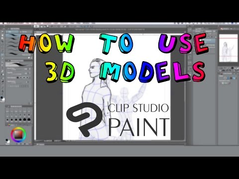 How to Use 3D Models | Clip Studio Paint