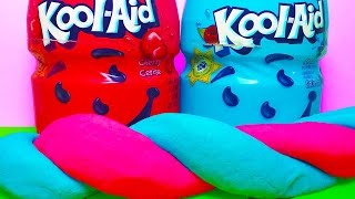 DIY: KOOL-AID PLAYDOUGH!  Smells SUPER FRUITY!! No Cooking and no Cream of Tartar!!
