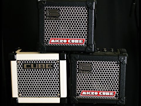 Roland Micro Cube - The BEST Amp In The World. Ever.