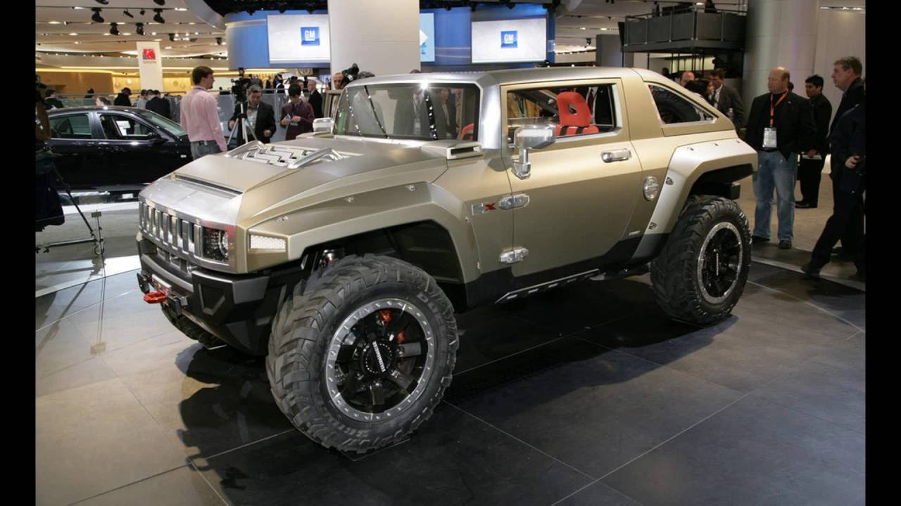 2018 Hummer Hx >> The Hummer Hx Concept 2018 Youtube
