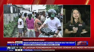Mayat Wanita Muda Ditemukan Dalam Lemari Kamar Kos Mampang