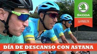 Día de descanso con Astana | Ibon Zugasti | La Vuelta con Škoda