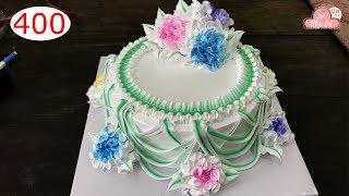 chocolate cake decorating bettercreme vanilla (400) Học Làm Bánh Kem Đơn Giản Đẹp - Xanh Lá (400)