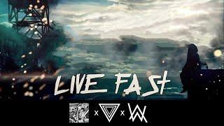 Alan Walker x A$AP Rocky - Live Fast [StiggiZ Remix]   Instrumental (Download in Description)