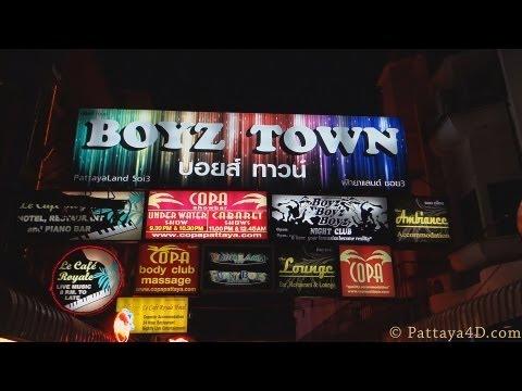 Pattaya 2013 Nightlife Boyz Town Boys Gay Bars Gay Agogo Bars พัทยา 芭堤雅 Паттайя पटाया